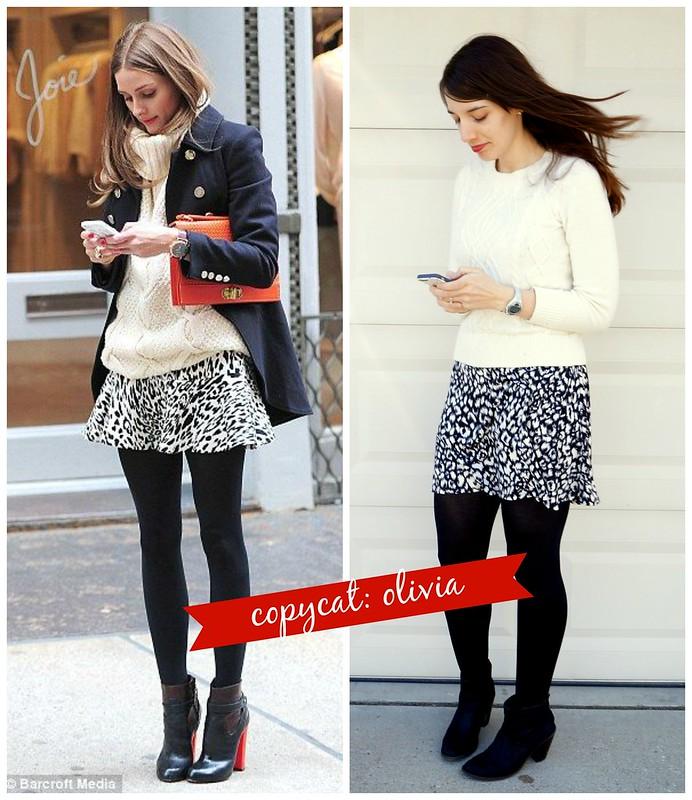 olivia palermo snow leopard copycat look