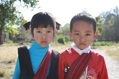 Children in Kalaw, Burma