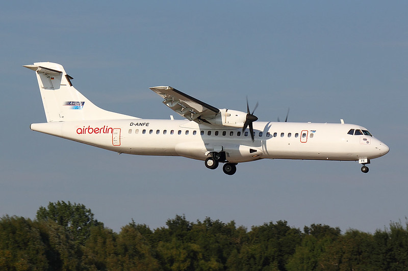 Avanti Air - Air Berlin - AT72 - D-ANFE (1)