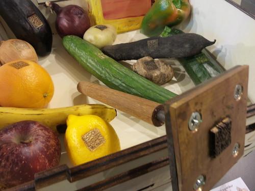 Frutta e Verdura con il timbro QR code! by Ylbert Durishti