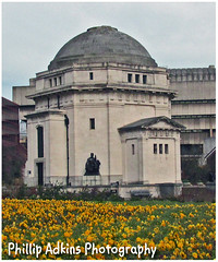 Flower and Hall of Memory
