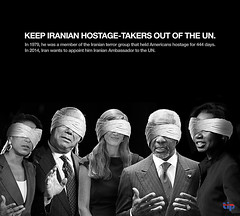 Keep Iranian Hostage-Takers Out of the UN