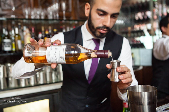 Making the East India Cocktail