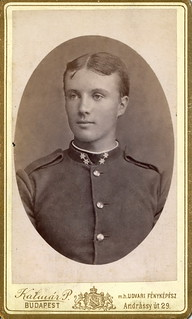Portrait of a young officer