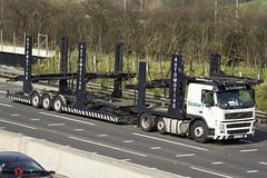 Volvo FM12 420 6x2 Car Transporter - KX05 CBO - Eddie Stobart Automotive - M1 J10 Luton - Steven Gray -