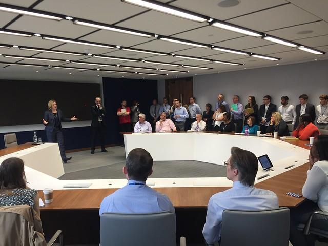 Amber Rudd visits National Power HQ