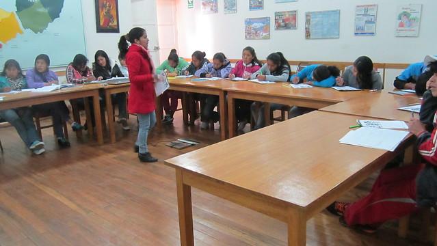 Centro de Educación Técnica Productiva en Cuzco. Perú