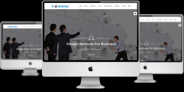 LT Enterprise v1.0.0 - Image Design Creative Joomla Template
