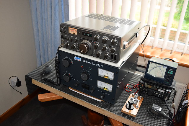 Trio TS-530S and Linear Amp UK Ranger 811H a nice combination