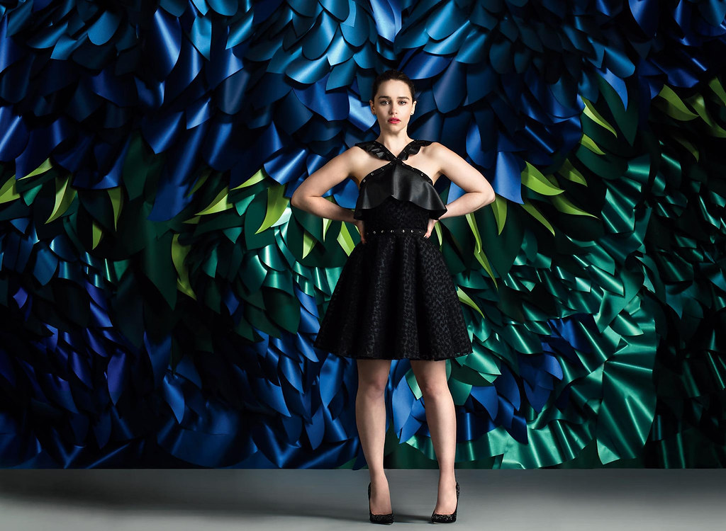 Эмилия Кларк — Фотосессия для «The Wrap» 2016 – 1