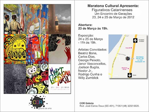 Maratona Cultural - invitation by good mood factory / Anita Damas