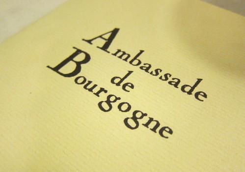 L'Ambassade de Bourgogne
