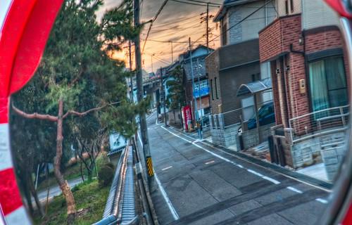 sunset japan mirror 日本 aichi okazaki hdr chubu honshu 愛知県 mikawa tonemapped 岡崎市 laspina 本州 中部地方 chūbu davidlaspina japandave japandavecom 三河国 davidalaspina