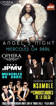Fiesta de Angeles en Ophera