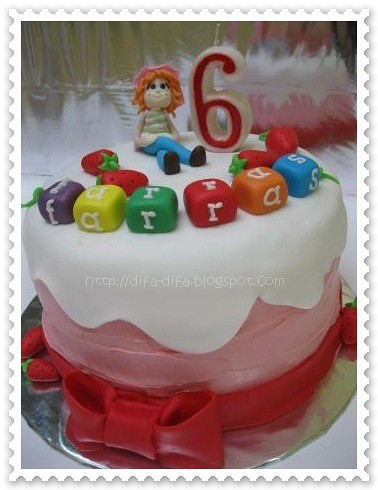 Strawberry Shortcake by DiFa Cakes