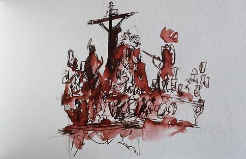 Paso del Cristo de la Lanzada