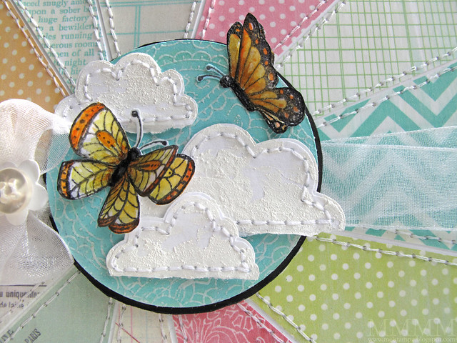 flit & flutter butterfly stamps from Purple Onion Designs