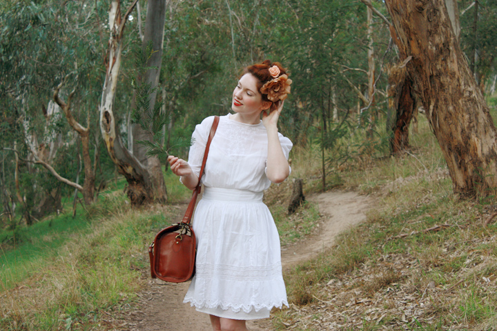 edwardian dress bushwalk