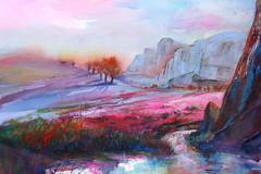 Sun Peaking through by Nancy Lewis