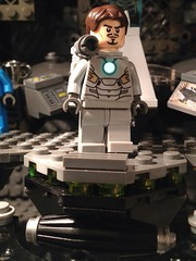 Lego custom iron man updated with cannon