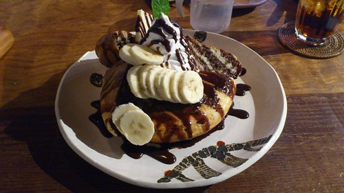 Conversion's banana choco hotpancake
