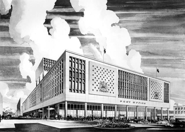Built - Main Post Office (1958)