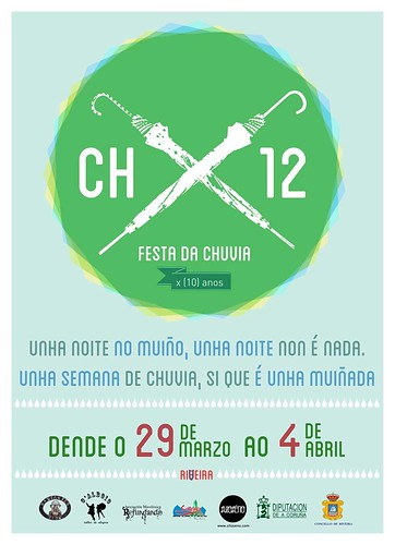 Ribeira 2012 - Festa da Chuvia - cartel