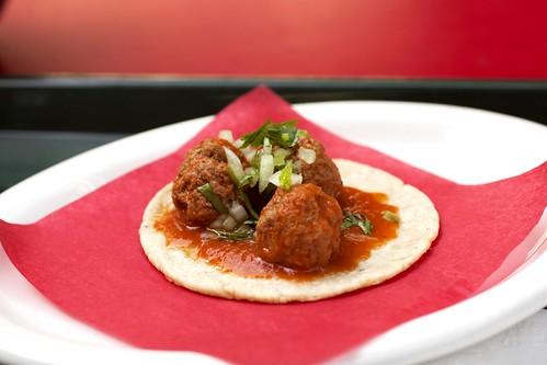 meatball taco @ loteria
