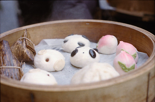 Pig steamed filled dumpling of Panda♡