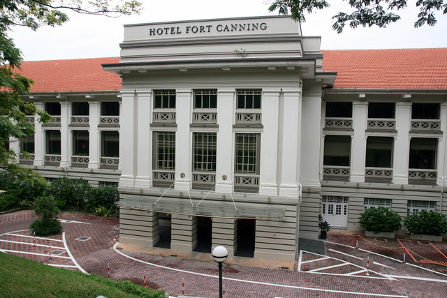 Hotel Fort Canning Facade