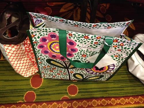 Vera Bradley reusable bag, Project Mom 2012