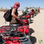 Quad Biking Through the Desert - Hurghada, Egypt