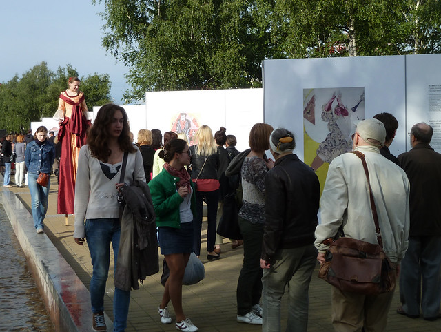 Выставка Шагала в Минске, Художник и город 3
