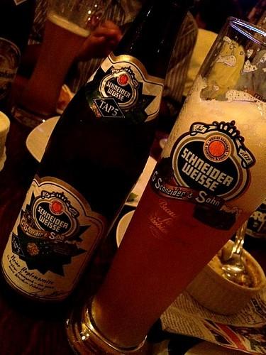 Schneider Weisse(シュナイダー・ヴァイセ)が一番気に入りました!@Beer & Wine Cafe 65 (ロクゴ)