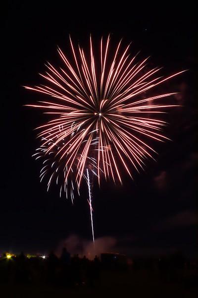 Waterloo Days Fireworks 2012
