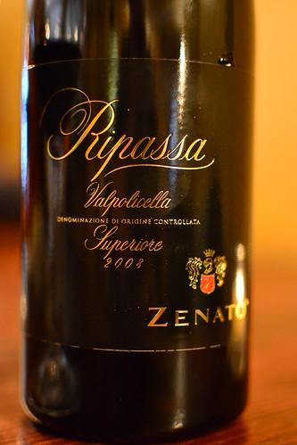 Zenato Ripassa by pjpink
