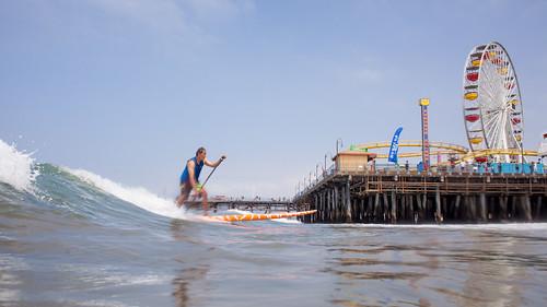 Jeff Berting Pier Paddle