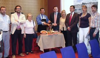 Presentación de Huelva en Bilbao.