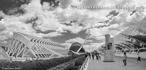 La Ciudad de las Artes y las Ciencias (Valencia, España)