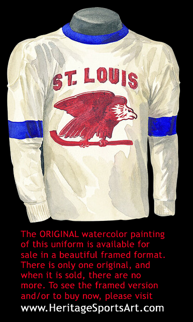 St. Louis Eagles 1934-35 jersey artwork | Flickr - Photo ...