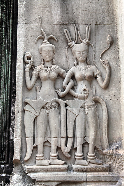 Carved Maidens