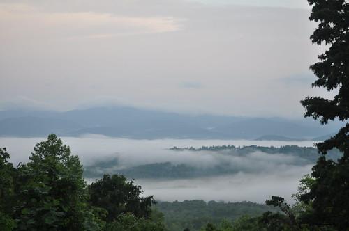 mountains clouds amherstvirginia
