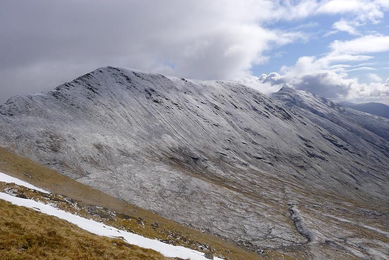 The Sgurr a' Chaorachain ridge