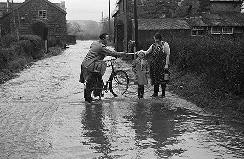 Conditions in Newtown, Caersws and Ellesmere during the severe winter of 1939-40