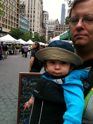 Hello, Union Square Greenmarket.