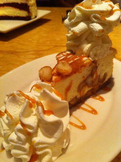 Cheesecake Factory's White Chocolate Caramel Macadamia Nut Cheesecake ...