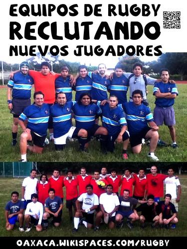 Equipos de Rugby Recrutando Nuevos Jugadores