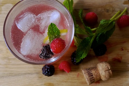 Prosecco Elderflower Cocktail