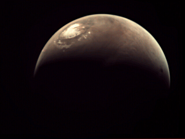 Mars Webcam image of the Red Planet