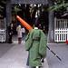 和傘の撤収